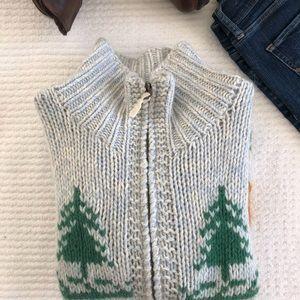 American Eagle sweater jacket, EUC